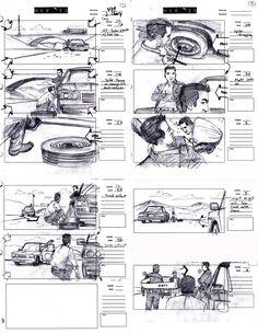 Heroes Storyboard