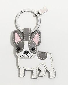 French Bulldog Key Ring....psssst Christmas gift....someone tell my hubby