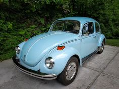 This is 1972 vw beetle. Vw Beetle For Sale, Vw Super Beetle, Volkswagen Beetle Vintage, Volkswagen Bus, Vw Camper, Racing Seats, Old Classic Cars, Import Cars, Vw Cars