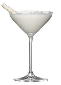 winter wonderland martini | 2 oz Vanilla Vodka  1 oz White crème de cacao  2 oz White chocolate liqueur  1 oz Cream ½ Teaspoon of coconut flakes  1 White chocolate wafer stick    Directions:  Add the vanilla vodka, white chocolate liqueur, crème de cacao and cream into a shaker and shake over ice. Strain martini into a martini glass and add half a teaspoon of coconut flakes. Stir martini gently with white chocolate wafer stick to create a blizzard!