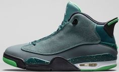 a3f85302c4f6 Jordan Dub Zero Teal Blue Graphite-Black-Light Green Spark  89 http