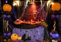 halloween decorations | Mesa de Halloween | Dicas para Festas