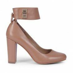 Sole Society, Ankle Strap Block Heel Kasia