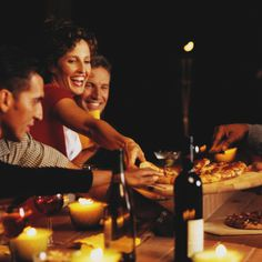 Pizza and Ecco Domani Pinot Grigio? Perfect for an impromptu gathering with friends.
