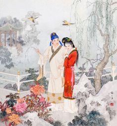 作品集-项维仁工笔人物画官方网站