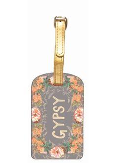 Papaya Art Gypsy Peach Luggage Tag. Buy Papaya Art Stationery online in Australia