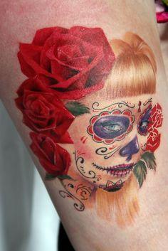 #tattoo, #roses