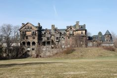Halcyon Hall, Bennett College, Millbrook, New York- Often confused with the Summerwind mansion that was once in Wisconsin.
