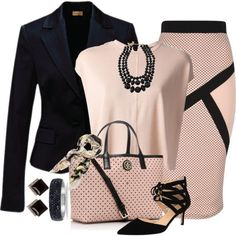 24 Ideas For Style Vestimentaire Femme Travail Business Outfits, Business Attire, Business Fashion, Mode Outfits, Fashion Outfits, Womens Fashion, School Outfits, Fashion Trends, Classy Outfits