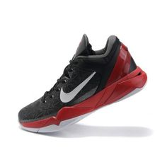 cf3c504d3e9e Wholesale Nike Zoom Kobe VII Mens Basketball Shoes - Black Red White Now  only   68.90