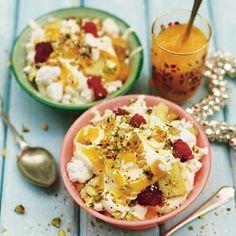 Mango meringue mess - Recept - Allerhande - Albert Heijn