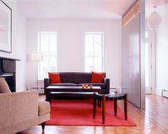 park slope row house parquet floor