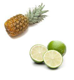 Ananas-Limettensirup