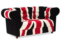 The Best Sofas For Small Spaces: Union Jack Love Seat