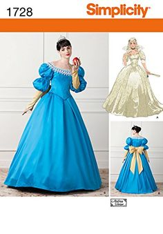 Simplicity 1728 Misses' Costume D5 (4-6-8-10-12) Simplicity Patterns http://www.amazon.com/dp/B009NFFJ9U/ref=cm_sw_r_pi_dp_wNWaxb06PZSF3