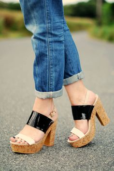 How To Dress Up Boyfriend Jeans (yet Remain Casual)  #leopard #pleated #boyfriend #skinny #short sleeve #tie #short #tail #back #party #side #over #sandals #dress #dress #short