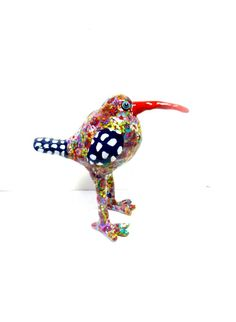 polymer clay sculpture bird  animal Collectibles by MIRAKRIS, $75.00