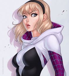 Exotication... | Spider Gwen by dandonfuga