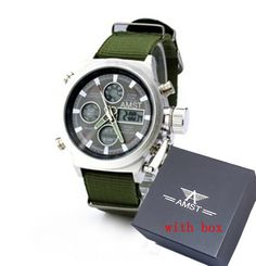 b090f2c15bff Men s AMST3003 Wrangler Military Watch Sport Watches