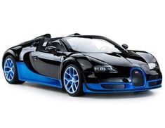 Luxury Cars  :   Illustration   Description   – 1/14 Scale Radio Control Bugatti Grand Sport Vitesse – Full Function Radio Controlled; Licensed RC Model Car – Forward, Reverse, Stop, Left & Right – Detailed Interior / Exterior; Working Head/Tail #radiocontrolcars #radiocontrolledcars #rccars #luxurysportcars