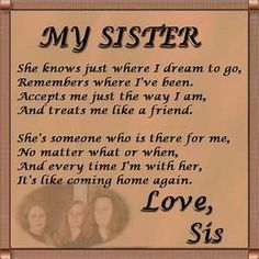 wedding sister quotes - Google Search