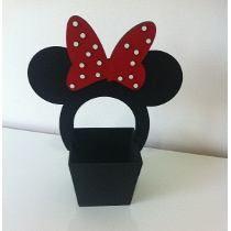 Cachepô Centro De Mesa Minnie Ou Mickey