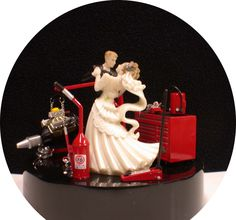 nascar wedding toppers | ... Fan NasCar Auto MECHANIC Mac 76 Tool Engine Stand Wedding Cake Topper for the grooms cake topping