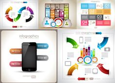 Information graphic design elements vector