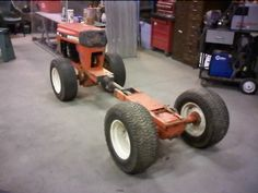 Birth of a 4WD Articulated Garden Tractor