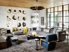 Jay Jeffers and SHM Architects Craft a Modern Home in Dallas for Arteriors Founder | Architectural Digest