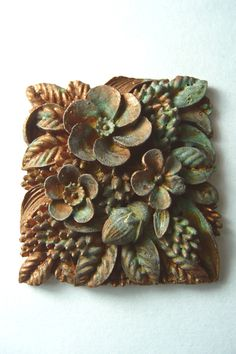 Plastic Fantastic Patina!  Transform Plastic and Resin Into Metal With Aged Patina Effect