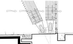 Jean-Marie Tjibaou Cultural Center ( Nouméa, New Caledonia) - Renzo Piano Architecture Design, Cultural Architecture, Timber Architecture, Architecture Drawings, Landscape Architecture, Architecture Diagrams, Architecture Portfolio, Membrane Structure, Timber Structure