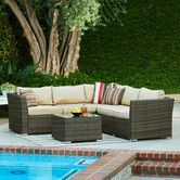 Found it at Wayfair - Mirge 4 Piece Seating Group with Cushions