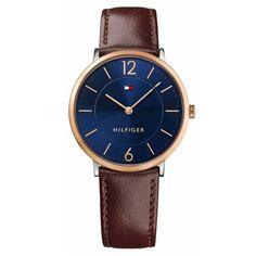 f63b6c56002 Relógio Tommy Hilfiger Masculino Couro Marrom - 1710354 Relogio De Couro  Masculino
