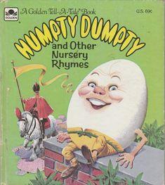 Giraffe Nursery, Nursery Rhymes, Anne Of The Island, Vintage Children's Books, Vintage Kids, Retro Vintage, Book Spine, Barnyard Animals, Humpty Dumpty