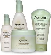 Aveeno is great for sensitive skin