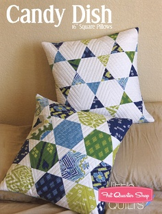 LOVE jaybird quilts designs. always fresh. Candy Dish Pillow Pattern Jaybird Quilts - Fat Quarter Shop