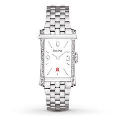 Bulova Womens Watch Diamond Bezel 96R187
