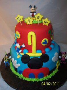 Micky Mouse Clubhouse By sonyalaura on CakeCentral.com
