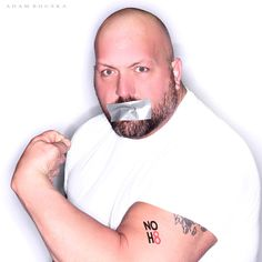 NOH8 Campaign - WWE Superstar Big Show  - See more: http://www.noh8campaign.com/article/wwe