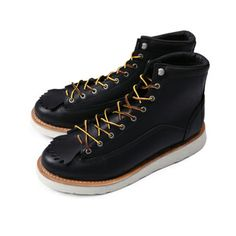 Japanese high-quality single-LONE WOLF same paragraph handmade boots work boots catlike face 9 hole short boots