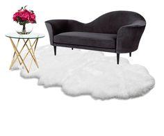 """master living room"" by jessicadananto on Polyvore featuring interior, interiors, interior design, home, home decor, interior decorating, UGG Australia, Gubi, Lux-Art Silks and living room"