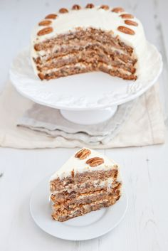 Carrot Cake with 2 Icing Options