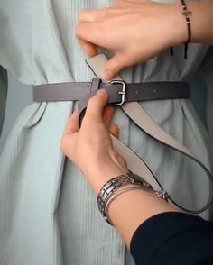 Diy Clothes Life Hacks, Diy Clothes And Shoes, Clothing Hacks, Diy Fashion Hacks, Fashion 101, Fashion Outfits, Friend Outfits, Office Fashion, Beautiful Outfits