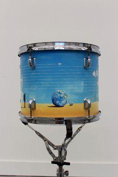 Szymon Kot - custom drums Drums, Planter Pots, Percussion, Drum, Drum Kit