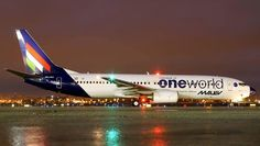 Air New Zealand, First World, Dusk, Plane, Aviation, Aircraft, Commercial, Europe, Night