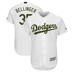 a64050632 Cody Bellinger Los Angeles Dodgers Majestic 2018 Memorial Day Cool Base  Player Jersey - White Clayton