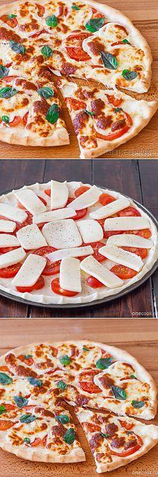 Традиционная пицца Маргарита