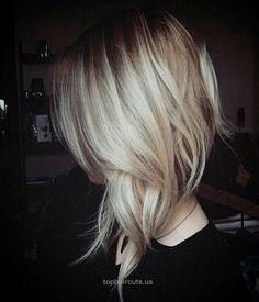 Edgy New Hairstyles for Medium Hair | Some Beautiful New hairstyles for 2015 – 2016  Edgy New Hairstyles for Medium Hair  http://www.tophaircuts.us/2017/05/12/edgy-new-hairstyles-for-medium-hair-some-beautiful-new-hairstyles-for-2015-2016/ Medium Short Haircuts, Short Hairstyles For Women, Long Bob Hairstyles, Medium Hair Cuts, Cute Hairstyles, Yummy Hair, Wedding Hair And Makeup, Hair Makeup, Hair Doo