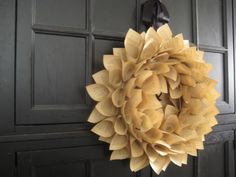 Maybe Ill finally make a wreath for my front door! I couldnt possibly tear up a  http://media-cache1.pinterest.com/upload/196962183673353760_zFTN8C6H_f.jpg laceysanderson home diy